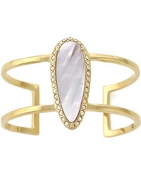 Cole Haan - Golden Lights Mother-of-pearl Cuff Bracelet - Lyst