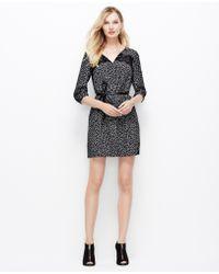 Ann Taylor Lace Confetti Dress - Lyst