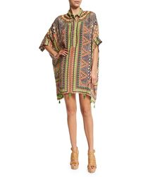 Hemant And Nandita | Embroidered Caftan Dress | Lyst