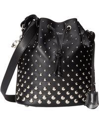 Alexander McQueen Padlock Bucket Bag - Lyst