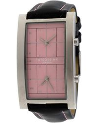 Tateossian - Dual-time Watch W/ Leather Strap - Lyst