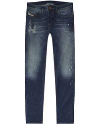 Diesel Sleenker Skinny Jeans - Lyst