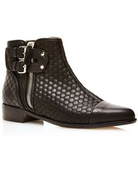 Tabitha Simmons Joplin In Quilted Black Nappa - Lyst