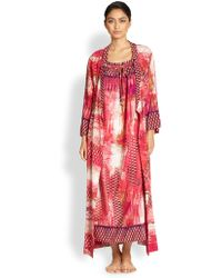 Oscar de la Renta Arabian Sunset Robe - Lyst