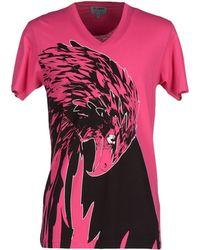Les Hommes | purple T-shirt | Lyst