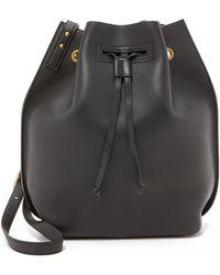 Maiyet Sia Medium Bucket Bag - Black