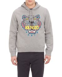 Kenzo Embroidered Tiger Hoodie - Lyst