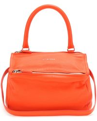 Givenchy Pandora Small Leather Shoulder Bag - Lyst