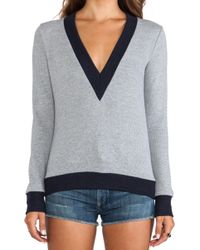 19 4t - Vneck Sweater - Lyst