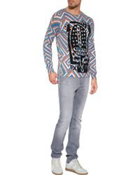 Marc Jacobs Cotton-Alpaca Pullover blue - Lyst