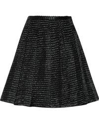 Jill Stuart Viktoria Raffiaeffect Skirt - Lyst