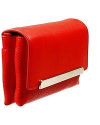 Christian Louboutin Rougissime Clutch Pelle Con Tracolla - Lyst