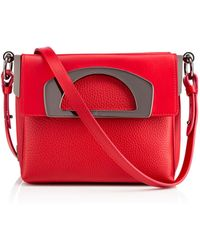 Christian Louboutin Red Passage Mini - Lyst