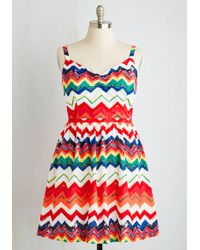 ModCloth | Dreams And Desires Dress | Lyst