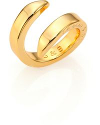 Giles & Brother | Double Spike Bypass Ring | Lyst