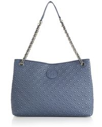 Tory Burch Marion Quilted Shoulder Bag - Lyst