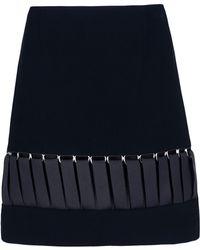 Mugler Knee Length Skirt - Lyst
