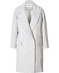 Issa Wool Blend Coat - Lyst