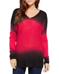 Two By Vince Camuto - Dip Dye Jumper - Lyst