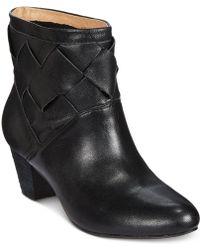 Corso Como - Bedford Woven Ankle Boot - Lyst
