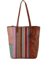 The Sak Palisade Leather Tote - Lyst