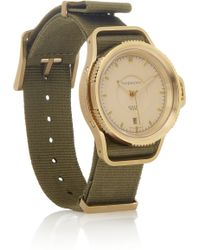 Givenchy - Seventeen Watch in Gold Pvdplated Stainless Steel - Lyst