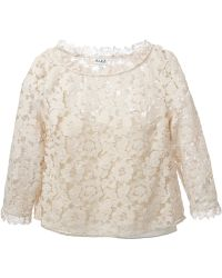 Alice By Temperley D14Cer0D1705 Oyster ??? Cotton - Lyst