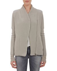 Iro Structured Sweater Jacket - Lyst