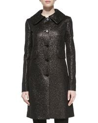 Michael Kors Crushed Brocade Topper - Lyst