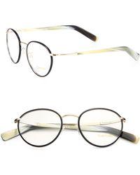 Tom Ford Round Optical Frames - Lyst