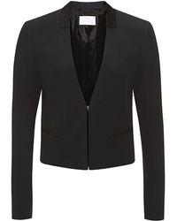 Boss Black Crepe Blazer - Lyst