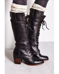 Freebird By Steven Grany Lace-up Tall Boot - Lyst