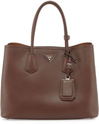 Prada City Calf Double Bag - Lyst