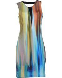 Y.a.s Multicolor Short Dress - Lyst