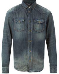 Diesel Blue 'New-Sonora' Shirt - Lyst