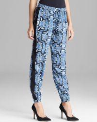 Pjk Patterson J. Kincaid - Trousers Piper Silk Jogger - Lyst