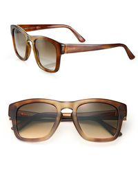 Gucci | 49mm Classic Wayfarer Sunglasses | Lyst
