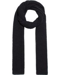 AMI - Oversize Chunky Knit Scarf - Lyst