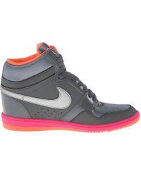Nike Force Sky High Sneaker Wedge - Lyst