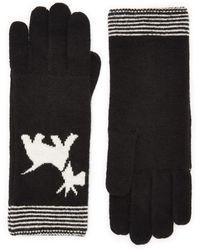Cc | Stripe Scotty Dog Gloves | Lyst
