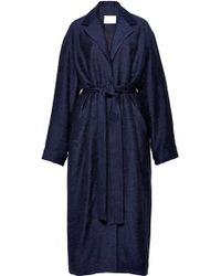 Perret Schaad - Sophear Coat in Blue Melange - Lyst