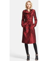 Burberry London 'Brackenhill' Belted Double Breasted Trench Coat - Lyst