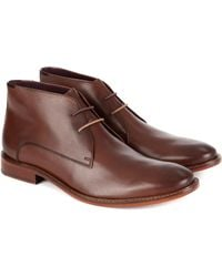 Ted Baker Classic Derby Boot - Lyst