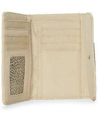 Catherine Malandrino - Beige Quilted Jenna Wallet - Lyst