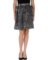 Honor Knee Length Skirt - Lyst