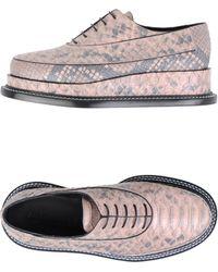 Jil Sander Lace-up Shoes - Pink