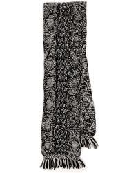 Madewell Color Shift Cable Scarf - Ecru - Lyst