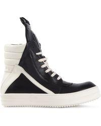 Rick Owens Geobasket Sneakers - Lyst