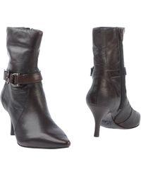 Anne Klein Ankle Boots - Lyst