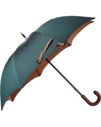 Barneys New York Two-Tone Umbrella - Lyst